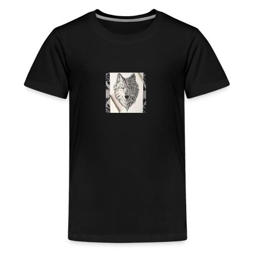 loup - T-shirt Premium Ado