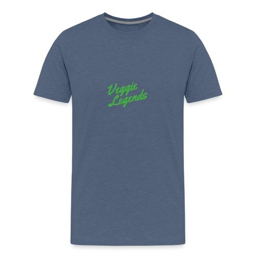 Veggie Legends - Teenage Premium T-Shirt