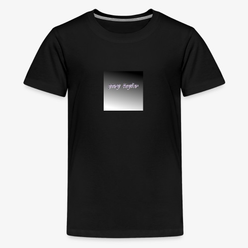 gary taylor OFFICIAL .e.g - Teenage Premium T-Shirt