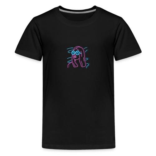 Girl Neon - Teenage Premium T-Shirt