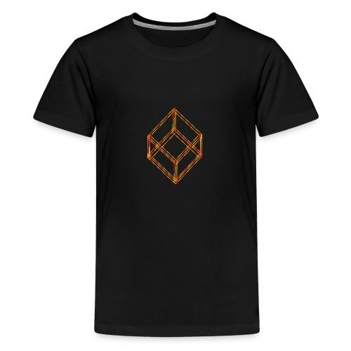 Verrückter Würfel - Teenager Premium T-Shirt