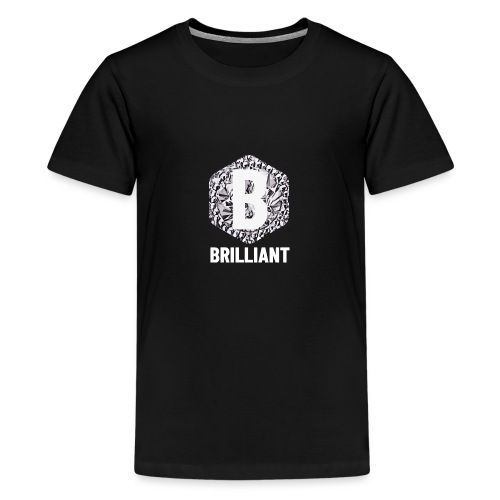B brilliant white - Teenager Premium T-shirt