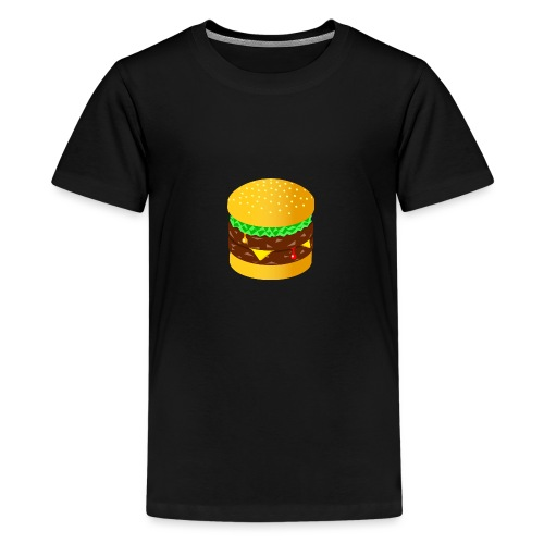 Burger - Teenage Premium T-Shirt