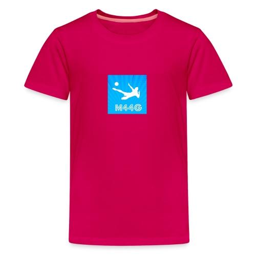 M44G clothing line - Teenage Premium T-Shirt