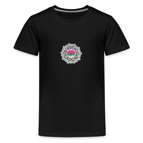 Lotus Flower Mandala - Teenage Premium T-Shirt