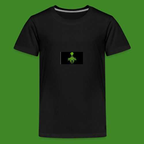 Green spiderman - Teenage Premium T-Shirt