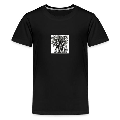 zebre fini - T-shirt Premium Ado