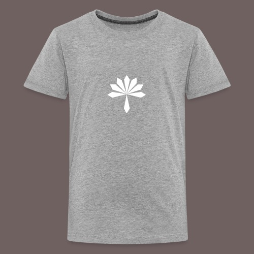 GBIGBO zjebeezjeboo - Rock - Fleur - T-shirt Premium Ado