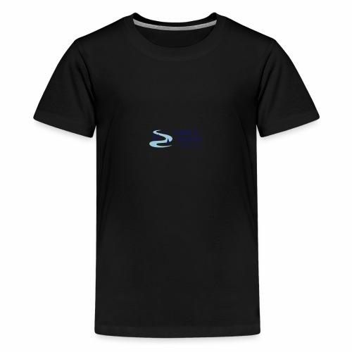 Lille logo forside - Teenager premium T-shirt