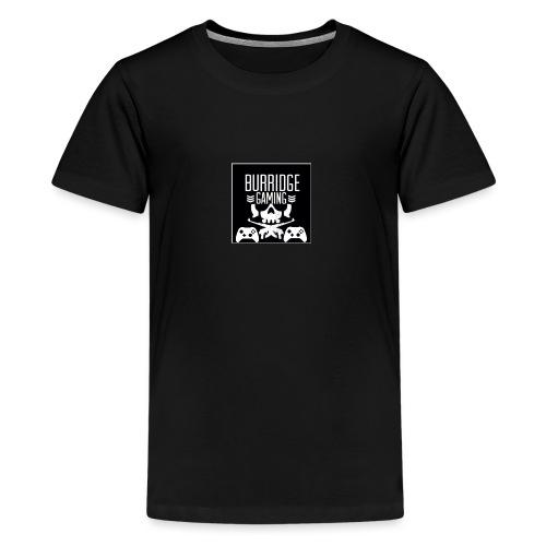 BurridgeGaming Logo - Teenage Premium T-Shirt