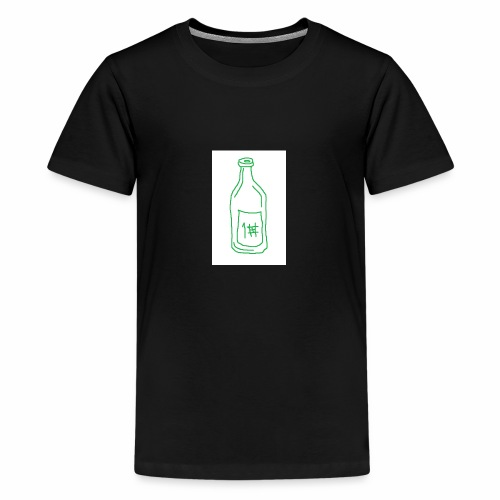 Alkoholi - Teinien premium t-paita