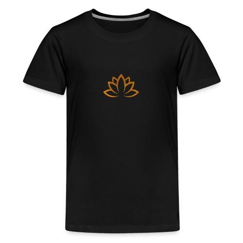 Lotus gold - Teenager Premium T-Shirt