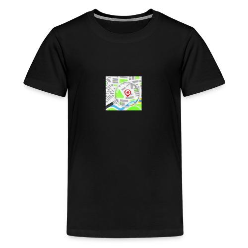 grunddata - Teenager premium T-shirt