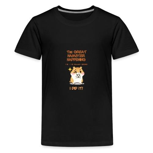 Het grote Corona Hamsterweekend! - Teenager Premium T-shirt