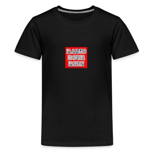 Radio Bour-Rhin BOUTIQUE - T-shirt Premium Ado