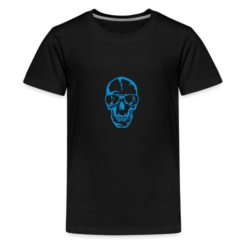 tete de mort crane lunette soleil 3 - T-shirt Premium Ado