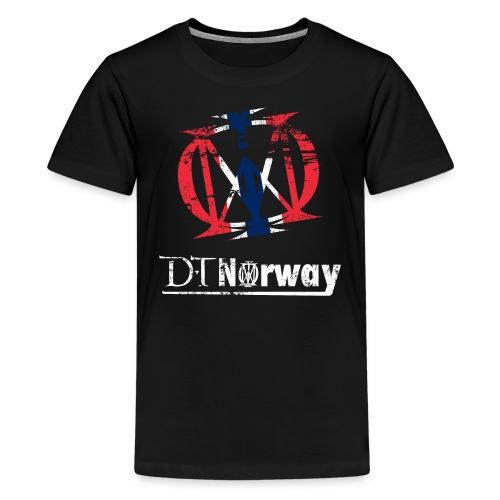 dtnorway t 1 - Premium T-skjorte for tenåringer