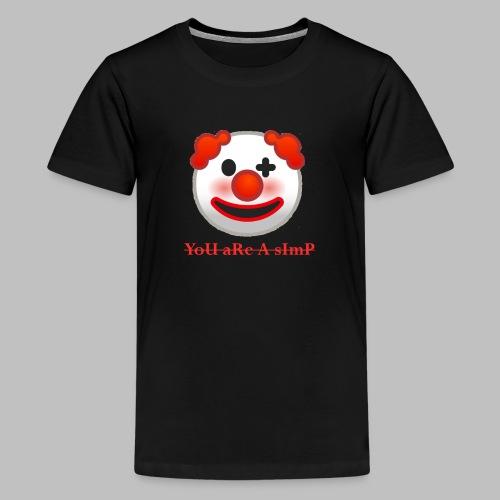 Clown Emoji - Teenager Premium T-shirt