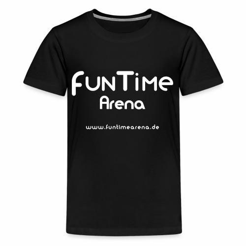 FunTime_Arena_Logo - Teenager Premium T-Shirt