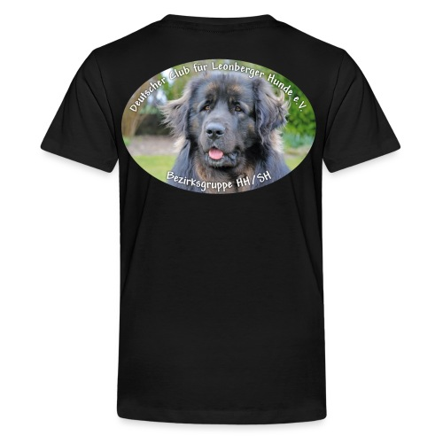 Leonberger BG Logo oval - Teenager Premium T-Shirt
