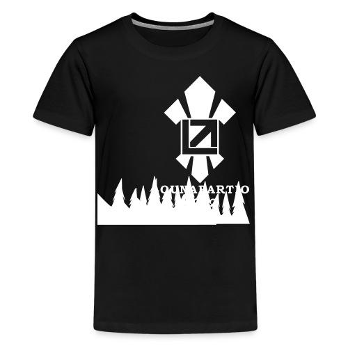 louvaatelogo - Teinien premium t-paita