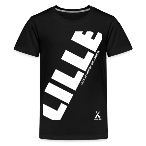 lillejo lillejovert men 35breite front shirt png - Teenager Premium T-Shirt