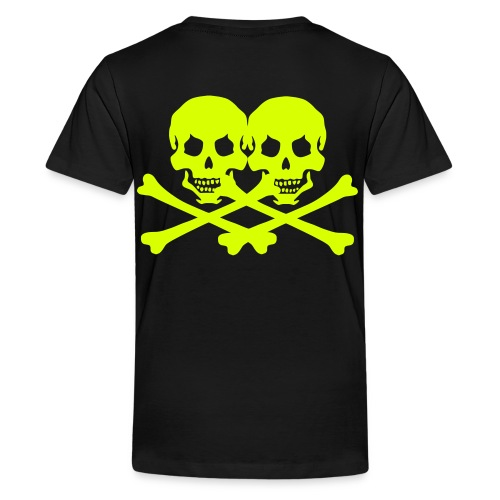 pirateskull - Teenage Premium T-Shirt