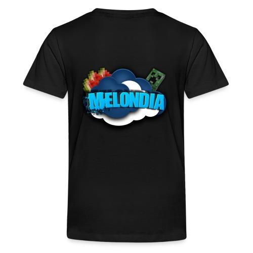MelondianLogo - Teinien premium t-paita