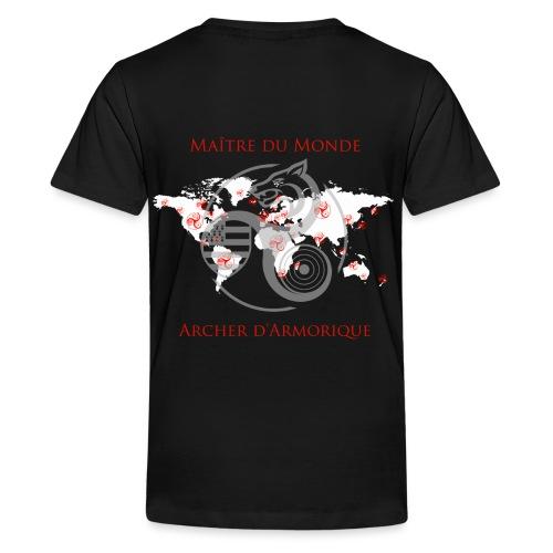 carteplanisphere2 - T-shirt Premium Ado