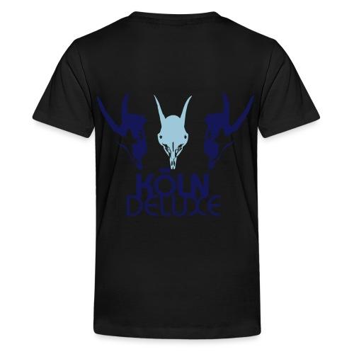 Geissbock Deluxe Motiv groß - Teenager Premium T-Shirt