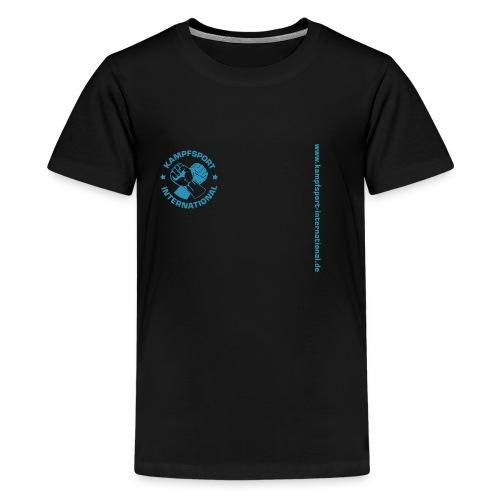 kiwebsite - Teenager Premium T-Shirt