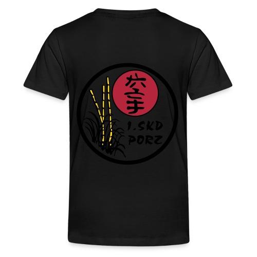 SVG logo 1 - Teenager Premium T-Shirt