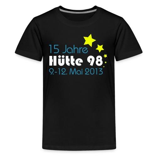 15 Jahre Hütte 98 Design - Teenager Premium T-Shirt