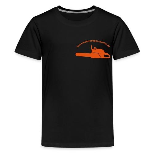 shirt front 01 - Teenager Premium T-Shirt