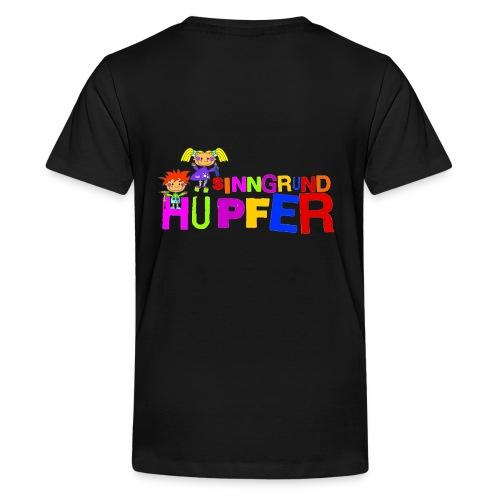 sinngrundhuepferfinal - Teenager Premium T-Shirt