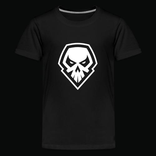 tank logo black - Teenage Premium T-Shirt