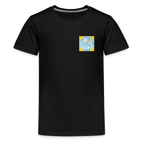 Logo VDIni Club Hamburg ge jpg - Teenager Premium T-Shirt