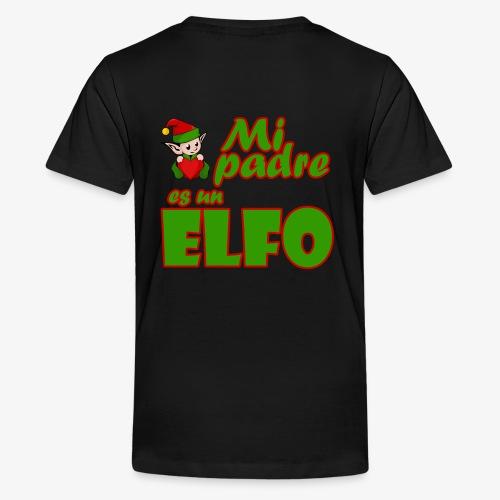 Padre Elfo - Camiseta premium adolescente