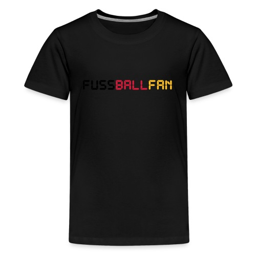 Fussballfan - Teenager Premium T-Shirt
