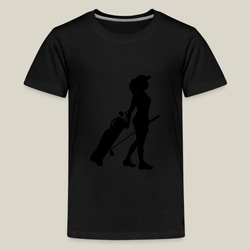 woman - Maglietta Premium per ragazzi