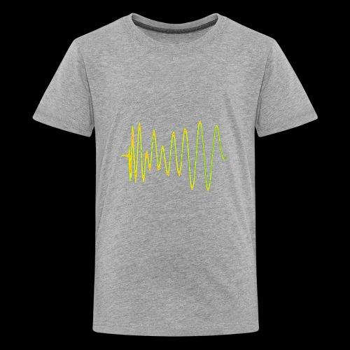 Boom 909 Drum Wave - Teenage Premium T-Shirt