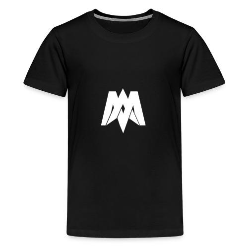 Mantra Fitness Slim Fit T-Shirt (Black) - Teenage Premium T-Shirt