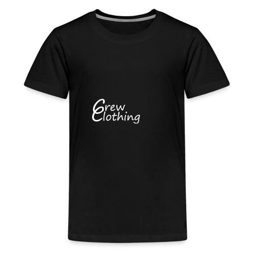 CCrewClothingweiß png - Teenager Premium T-Shirt