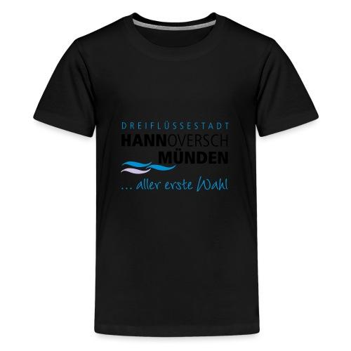 Hann. Münden Logo - Teenager Premium T-Shirt