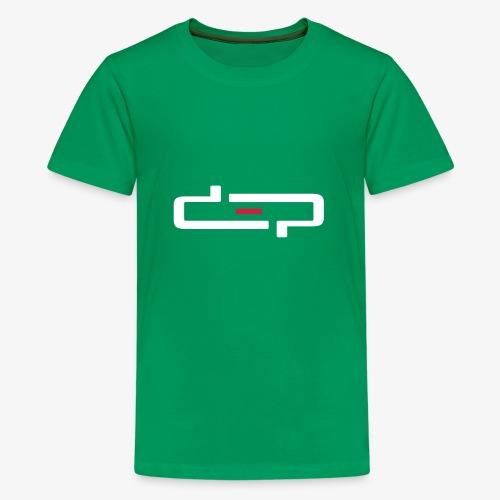 deplogo1neg red - Premium T-skjorte for tenåringer