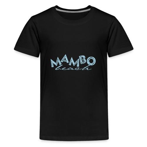 logo mambo blauw los eps orgineel - Teenager Premium T-shirt
