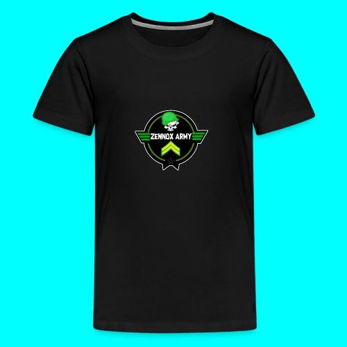 Zennox Army Design - Teenage Premium T-Shirt