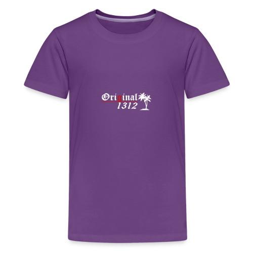 1312 T-Hemd [Druck beidseitig] - Teenager Premium T-Shirt