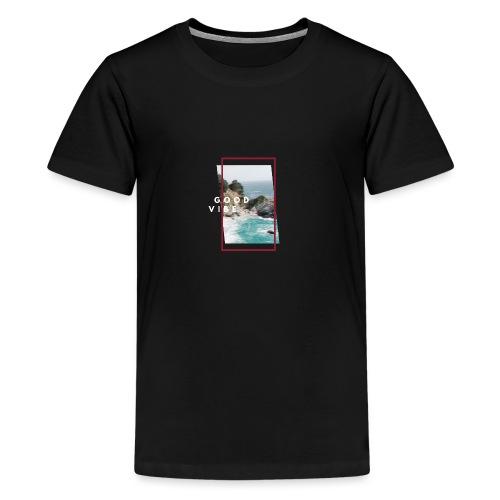 goodvibe summer - Teenager Premium T-Shirt