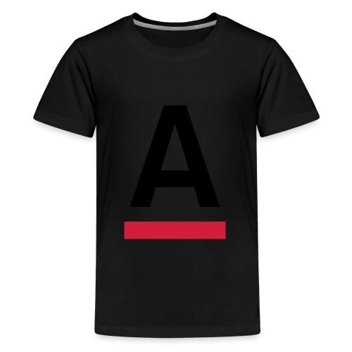 Alliansfritt Sverige A logo 2013 Färg - Premium-T-shirt tonåring